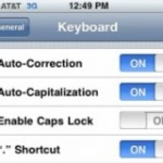 How to Turn Off iPhone Auto-Correction and Auto-Capitalization Features