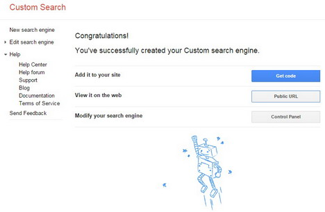 google-custom-search-created