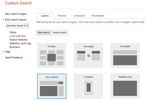 google-custom-search-layout