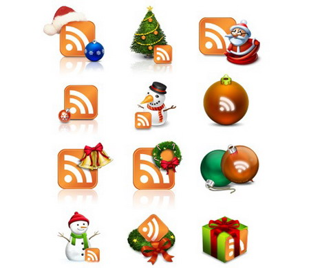 christmas_rss_ icon