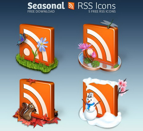 decorative_seasonal_rss_icon_pack