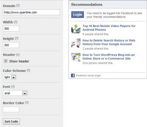 how_to_display_facebook_recommendations_on_your_website_or_blog_step2