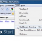 How to Use Mozilla Firefox to Browse Internet without Saving any Web History, Cookies and Temporary Internet Files