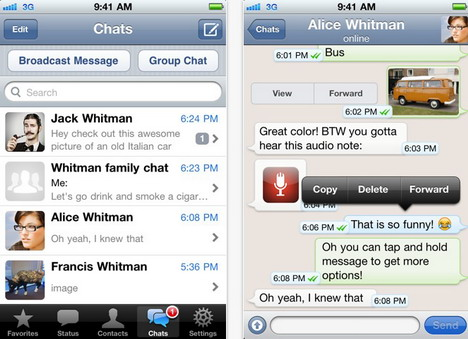 send_free_sms_text_message_via_whatsapp_messenger_screenshot