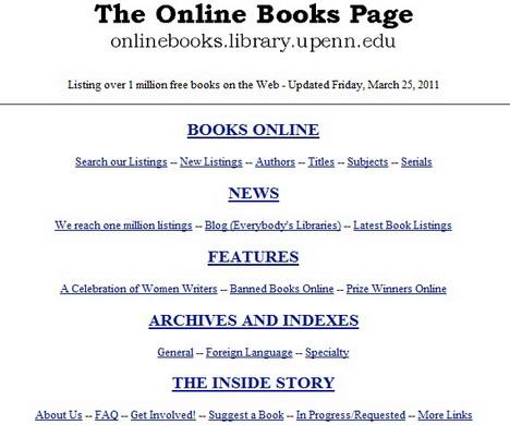 upenn_online_books