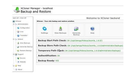 xcloner_backup_and_restore