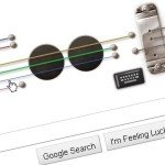 Play Google Doodle Les Paul Interactive Guitar on Its Permanent Webpage