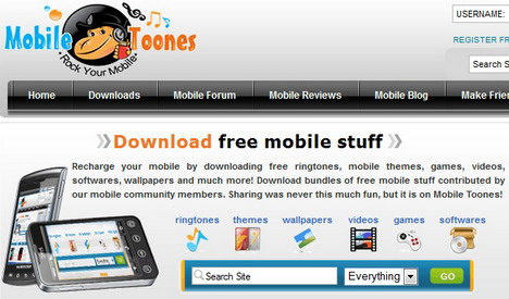 Best Websites to Download Free Mobile Phone Ringtones