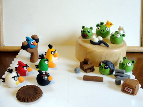 88 awesome angry birds merchandise you should not miss for Angry birds cake decoration