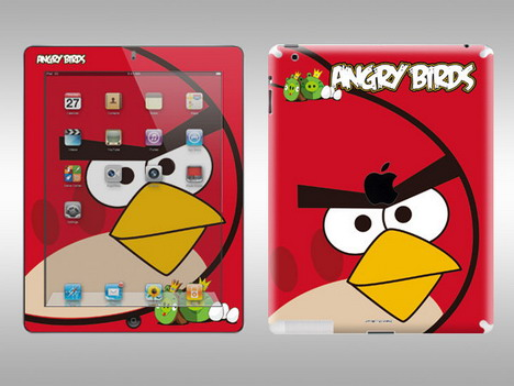 red_bird_ipad_skin
