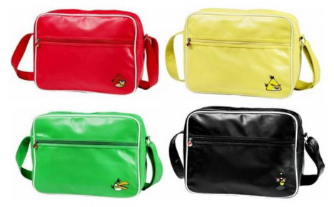 red_yellow_green_black_angry_birds_shoulder_bags