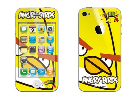 yellow_bird_iphone_skin