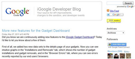 igoogle_developer_blog