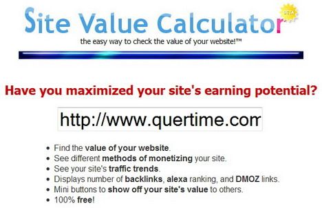 site_value_calculator