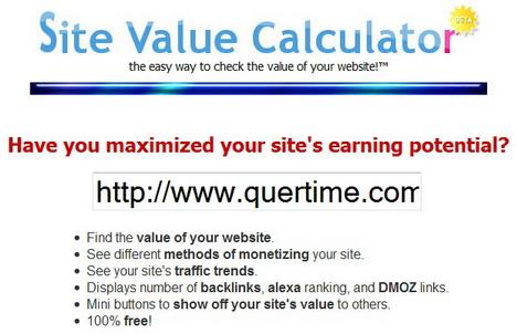 site_value_calculator