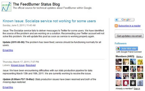 the_feedburner_status_blog