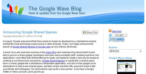 the_google_wave_blog