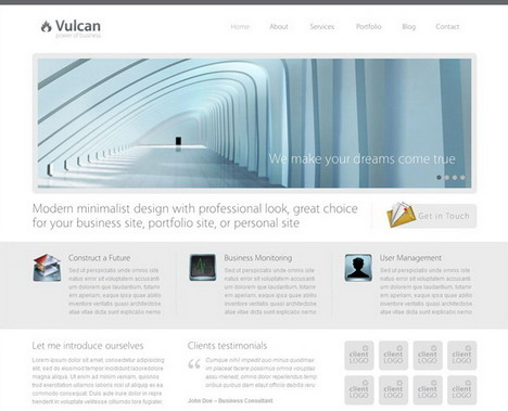 vulcan_business_simple_wordpress_theme