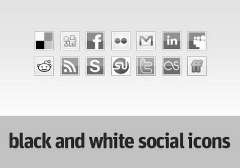 black_and_white_social_icons