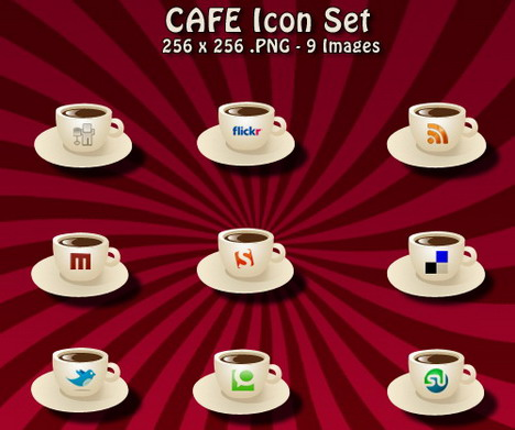 cafe_icon_set