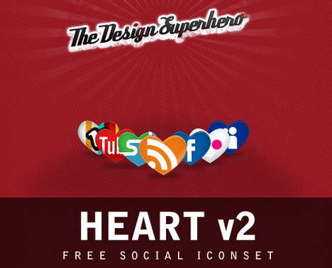 free_social_iconset_in_heart_shape