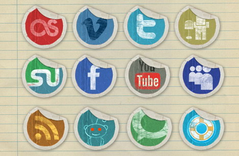 grunge_peeling_stickers_social_media_icons