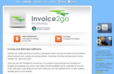 Invoice Template For Word Excel Top  Online Billing Invoicing And Other Accounting Services For  Chicago Taxi Receipt Word with Car Rental Invoice Sample Excel Invoicego Is The Readytogo Invoice Software For Creating Invoices  Purchase Orders Quotes And All Types Of Business Documents Its Also  Available As An  Receipt Business Definition Word