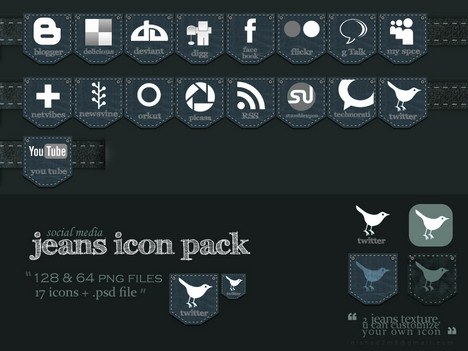 jeans_social_media_icon_pack