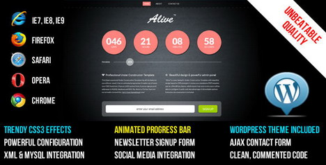 alive_under_construction_template_and_wp_theme