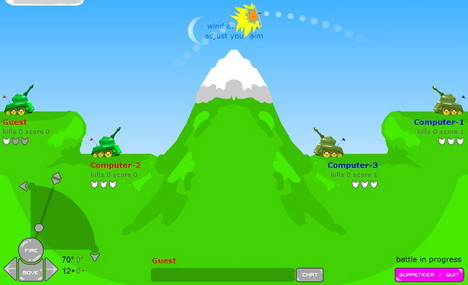 artillery_live_top_50_addictive_and_free_online_flash_games
