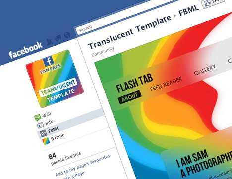 Beautiful Creative And Eye Catching Facebook Fan Page Templates