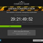 Top 60 Under Construction and Coming Soon Templates for Website and WordPress Blog