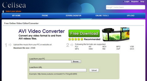 cellsea_free_online_video_editor_and_converter