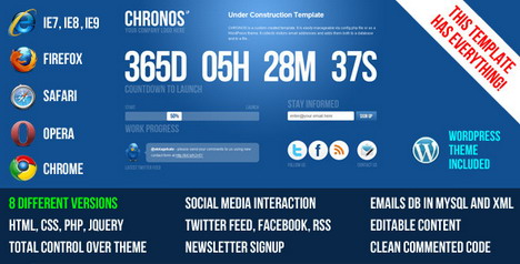 chronos_under_construction_template_wp_theme