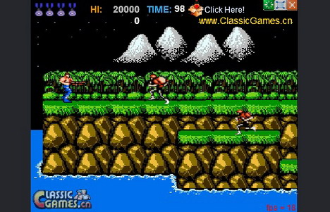 contra_20th_anniversary_edition_top_50_addictive_and_free_online_flash_games