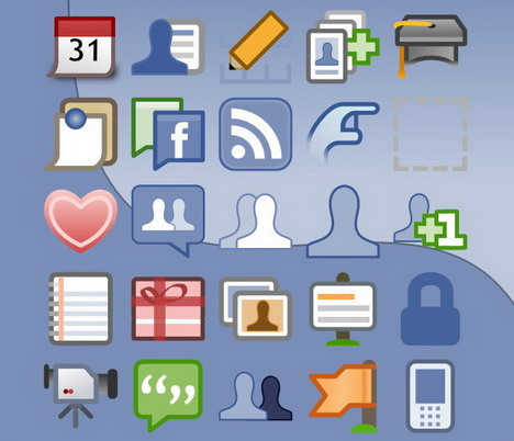 facebook_ui_icons_vector
