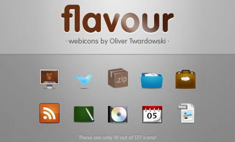 flavours_icon_set