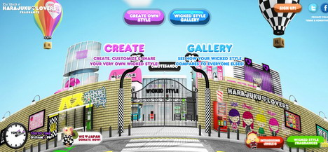 harajuku_lovers_60_best_creative_and_interactive_flash_websites