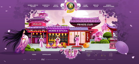 herbal_essences_spice_60_best_creative_and_interactive_flash_websites