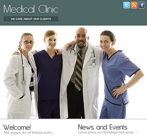 medical_clinic_static_free_facebook_template