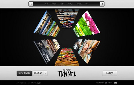 my_tunnel_60_best_creative_and_interactive_flash_websites