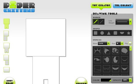 paper_critters_60_best_creative_and_interactive_flash_websites