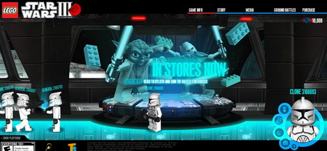 star_wars_3_60_best_creative_and_interactive_flash_websites