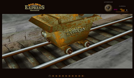 the_railaway_express_60_best_creative_and_interactive_flash_websites