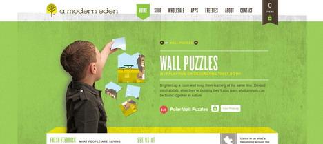 a_modern_eden_best_green_themed_website