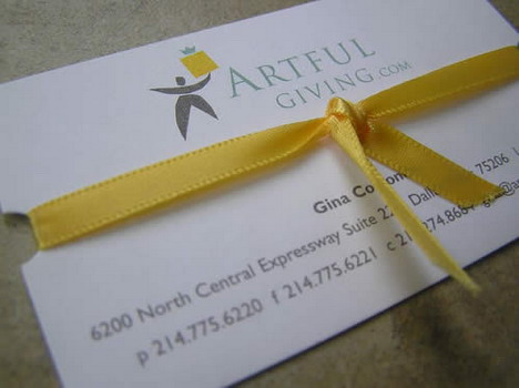 artful_giving_business_card_design
