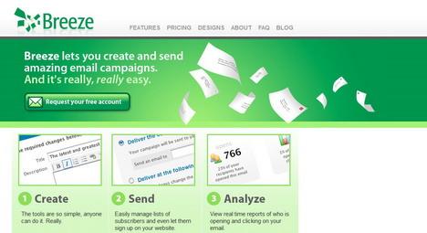 breeze_best_green_themed_website