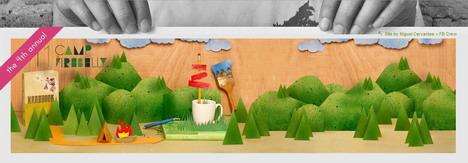 camp_firebelly_best_green_themed_website