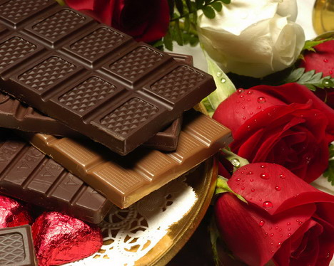 chocolate_and_rose_wallpaper