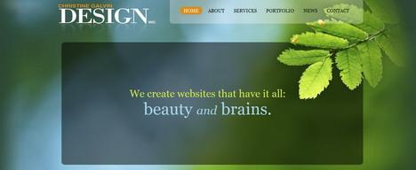 christine_galvin_design_best_green_themed_website
